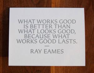 Ray Eames quote.via Pentagram