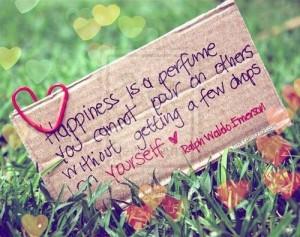 happiness, ralph waldo emerson