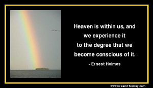 Heaven on Earth Quotes
