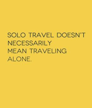 Solo Travel: 42 things I now know. http://solotravelerblog.com/solo ...
