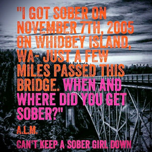 Curious...When & Where Did You Get Sober?