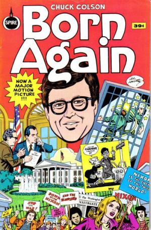 Weird Comics: Chuck Colson – Born Again