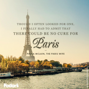 Travel Quote of the Week: On Paris