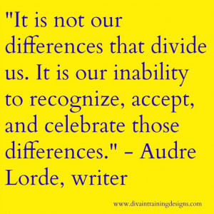 Quote from Audre Lorde, Caribbean-American writer, poet, & civil ...