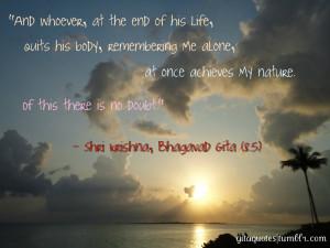 Bhagavad Gita Quotes HD Wallpaper 26