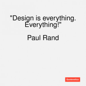 Paul Rand Famous Quotes