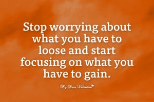Inspiration Picture Quotes - Stop worrying