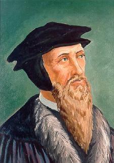 John Calvin (1509 - 1564, 55 years)