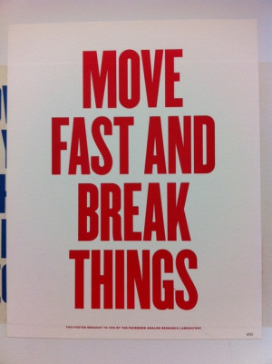 One Hacker Way (Facebook HQ): What are some quotes on signs around the ...