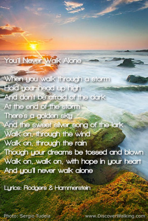 You'll Never Walk Alone Lyrics - Carousel - Rodgers & Hammerstein
