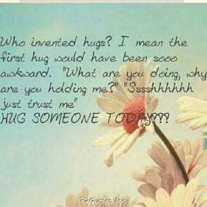 photo caption i love hugs # quotes