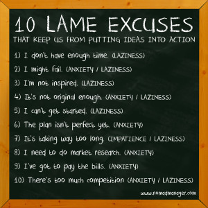 Lame Excuse – (Glossary of English Idioms)