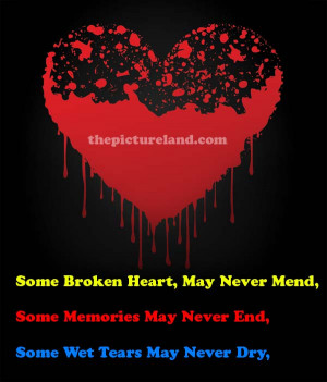 Broken Heart Quotes and Sayings for Him