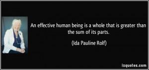 More Ida Pauline Rolf Quotes