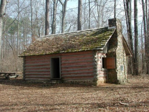 Nancy Hart's Georgia log house