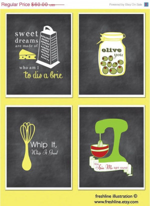 Kitchen Wall Art, Inspirational Quotes, Funny Kitchen Signs ...