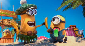 Jerry the Minion and Stuart the Minion from Universal Pictures ...