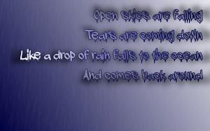 rainy quotes