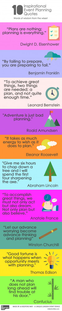 10 Inspiring Event Planning Quotes