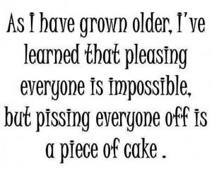 As I Have Grown Older…