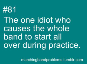 band geek problems