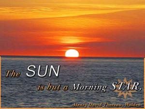 Good Morning Sun Tumblr Good morning quotes - the sun
