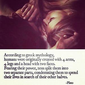 Greek #mythology #Zeus #half #heart #body #quote #love #lovers # ...
