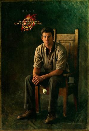 ... , Liam Hemsworth as Gale Hawthorne and Sam Claflin as Finnick Odair