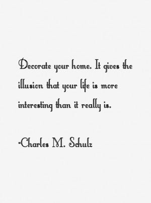 Charles M. Schulz Quotes & Sayings