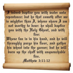 Famous bible quotes, meaningful, deep, sayings, fire