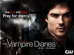 The Vampire Diaries new season 3 promo wallpaper