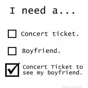 ... , concert, concert ticket, funny, lol, quest, quotes, rock, truth