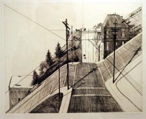 Wayne Thiebaud (1920-) b. America