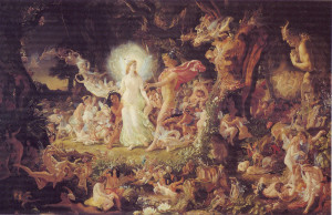... century scottish fairy painter in that he painted a lot of fairies not