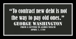 Hello Washington, it's George. Is anybody listening?
