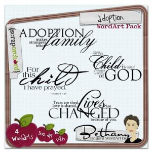 Popular Baby Adoption Announcements & Older Child Adoption Cards