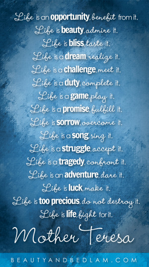 Life Is… (Such a Wonderful Reminder)