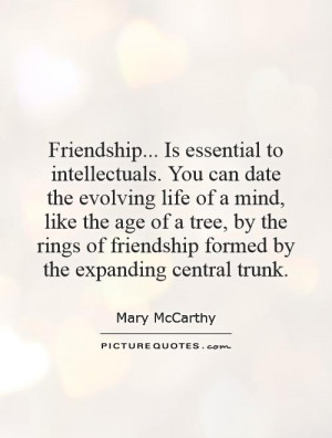 Tree Quotes Mind Quotes Intellectual Quotes Mary McCarthy Quotes