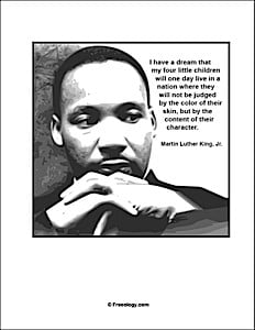 Martin Luther King I Have A Dream Speech Quotes