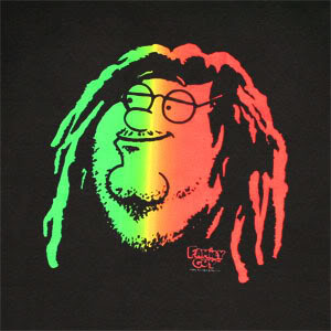 All Graphics » Rastafarian Peter Griffin