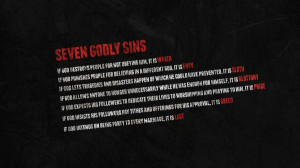 text quotes god typography seven deadly sins atheism sins 1920x1080 ...