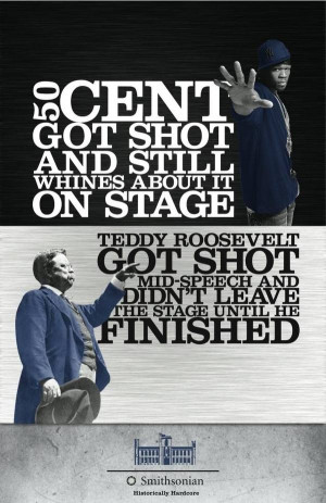 50 Cent vs Teddy Roosevelt