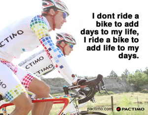 cycling inspiration