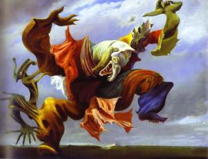 MaxErnst - L'Ange du foyer ou le triomphe du Surrealisme 1937