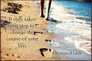 Walking in faith....