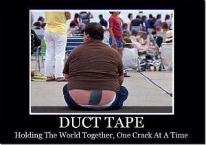 FUNNY STUFF/DUCT TAPE