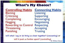 Choice Theory: Happy Parenting