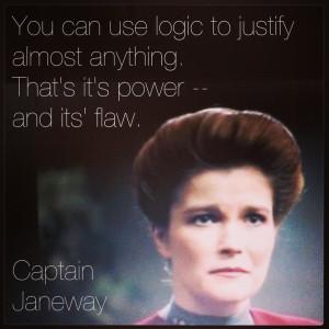 ... Birthday, Birthday Captain, Startrek, Janeway Quote, Star Trek Quote