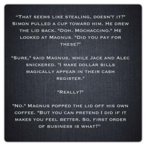 Mortal Instruments Quotes
