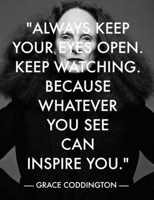 Grace Coddington Fashion Quote